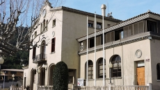 Façana de l'Ajuntament de Cabrera de Mar
