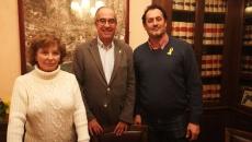 Carmen Manresa (AI-CM), Jordi Mir (PDeCAT) i Enric Mir (ERC)