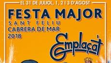 Part del cartell anunciador de la Festa Major