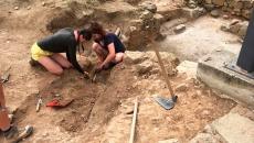Moment de les excavacions