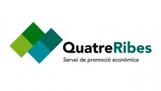 Logotip de Quatre Ribes