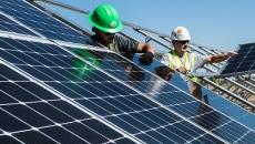 Instal·lació de plaques fotovoltaiques