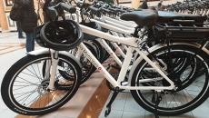 Una de les bicicletes donades per la Diputació de Barcelona