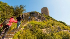 Visita al Castell de Burriac