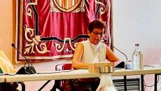 Montserrat Sala i Martín al ple municipal