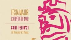 Detall del cartell de la Festa Major